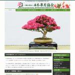 日本皐月協会HP(スマホ対応)リニューアル